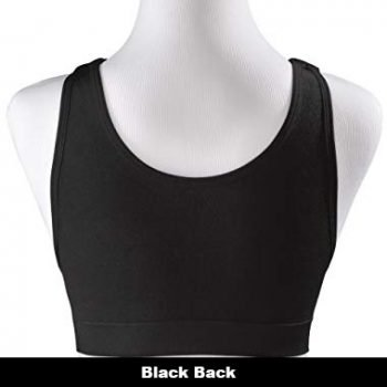 Bravity Sleeping Bra Back side black 2
